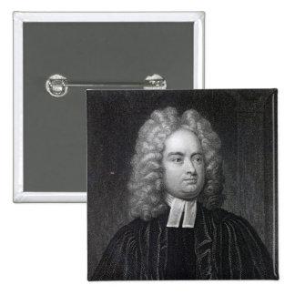 Jonathan Swift Pin Cuadrado