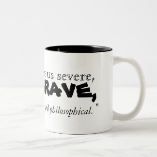 Jonathan Swift's Quote about Coffee - Mug