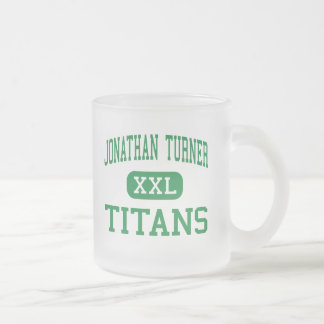 Jonathan Turner - Titans - Junior - Jacksonville 10 Oz Frosted Glass Coffee Mug