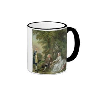 Jonathan Tyers (d.1767) and his Daughter, Elizabet Ringer Coffee Mug