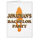 Jonathan's Bachelor Party Cards
