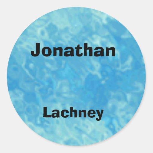 Jonathan's sticker