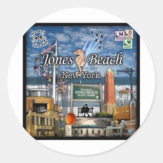 Jones Beach jpg Classic Round Sticker