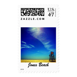 Jones Beach Lifeguard Chair Stamp