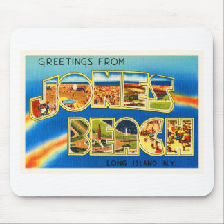Jones Beach New York NY Vintage Travel Souvenir Mouse Pad