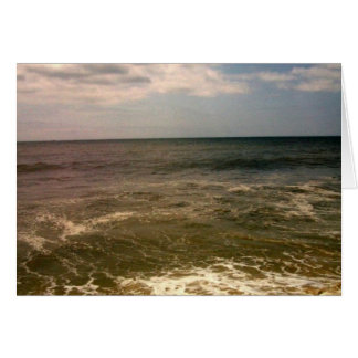 jones beach oceanview stationery note card
