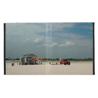 Jones Beach Umbrella Stand iPad Cases