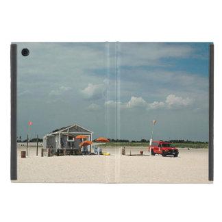 Jones Beach Umbrella Stand Cover For iPad Mini