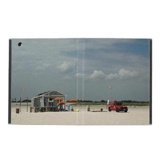 Jones Beach Umbrella Stand iPad Cover