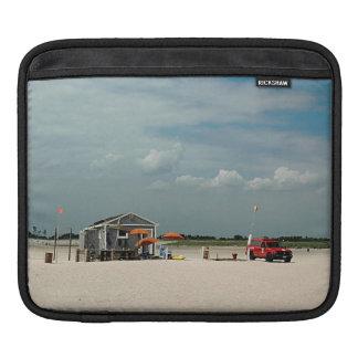 Jones Beach Umbrella Stand iPad Sleeves