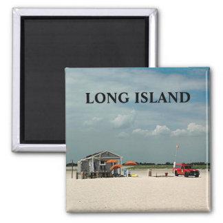 Jones Beach Umbrella Stand Refrigerator Magnet