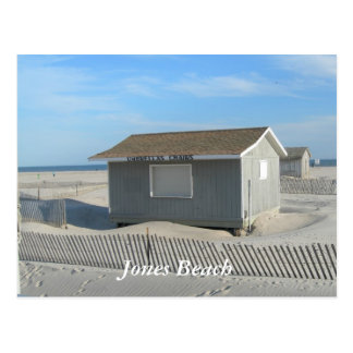 Jones Beach Umbrella Stand Postcard