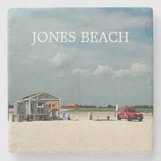 Jones Beach Umbrella Stand Stone Coaster