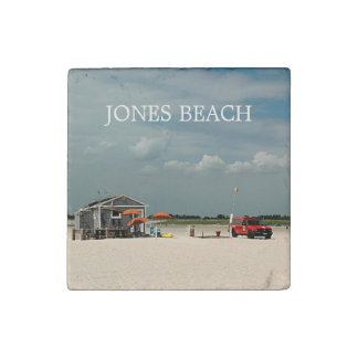 Jones Beach Umbrella Stand Stone Magnet