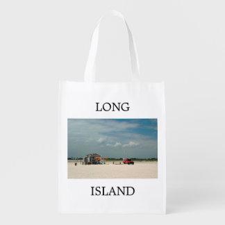 Jones Beach Umbrella Stand Grocery Bags