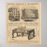 Jones, blanco y los depósitos dentales de McCurdy Posters