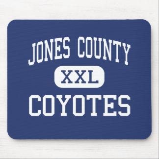 Jones County - Coyotes - High - Murdo South Dakota Mouse Mat
