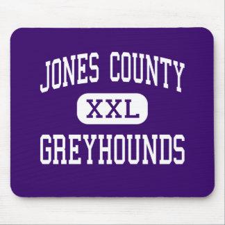 Jones County - Greyhounds - High - Gray Georgia Mouse Mats