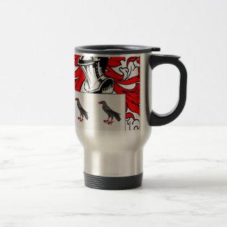 Jones (English) Coat of Arms Travel Mug