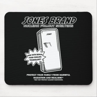 Jones Fallout Shelters Mouse Pad
