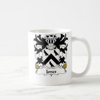 Jones Family Crest Coffee Mug