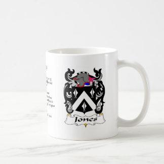 Jones Family Crest cup