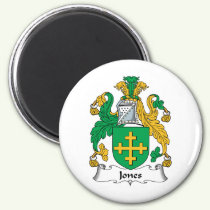 Jones Family Crest Magnet