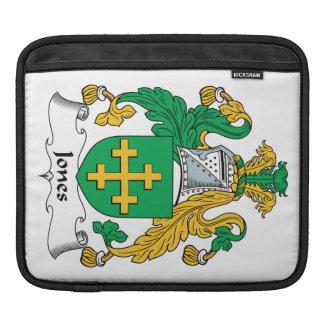 Jones Family Crest iPad Sleeve