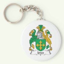 Jones Family Crest Keychain