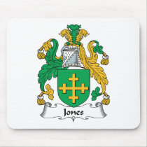 Jones Family Crest Mousepad