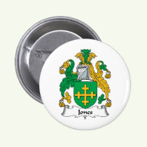 Jones Family Crest Button