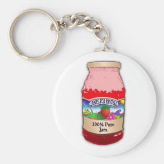 Jones For Revival Strawberry Jam Keychain