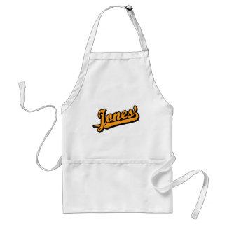 Jones' in Orange Adult Apron