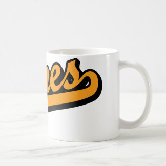 Jones in Orange Coffee Mug