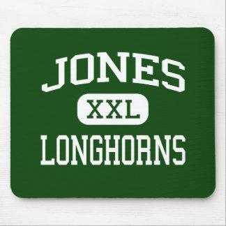 Jones - Longhorns - High School - Jones Oklahoma Mouse Mat