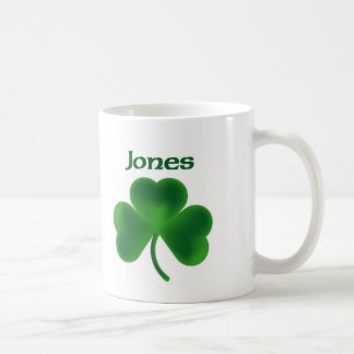 Jones Shamrock Coffee Mug