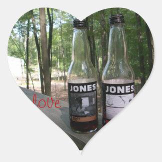 jones soda love heart sticker