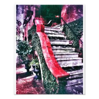 Jones Street Stairway, Savannah Photograph