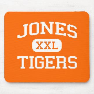 Jones - Tigers - High School - Orlando Florida Mouse Mat