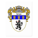 Jones Welsh Coat of Arms (Mantled) Post Cards