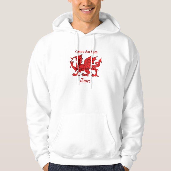 Jones Welsh Dragon Hoodie