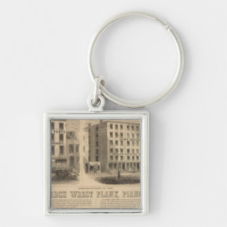Jones, White and McCurdy's Dental Depots Keychain