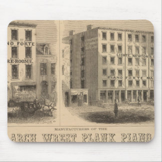Jones, White and McCurdy's Dental Depots Mouse Pad