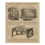 Jones, White and McCurdy's Dental Depots Poster