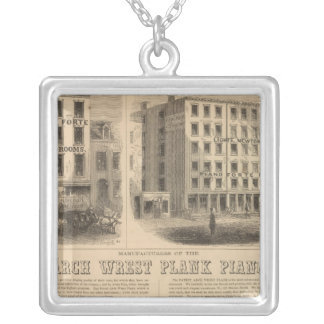 Jones, White and McCurdy's Dental Depots Silver Plated Necklace