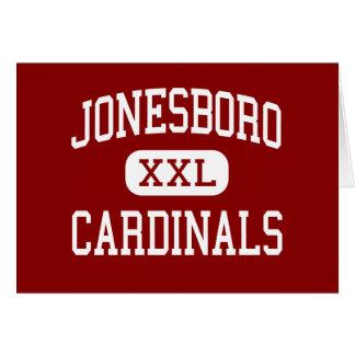 Jonesboro - Cardinals - High - Jonesboro Georgia Greeting Cards