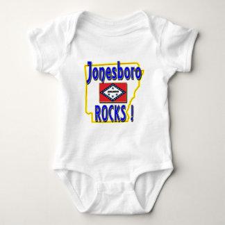 Jonesboro Rocks ! (blue) Baby Bodysuit