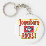 Jonesboro Rocks ! (red) Keychain