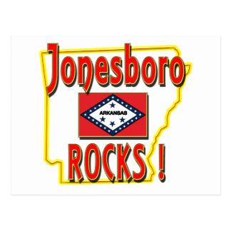 Jonesboro Rocks ! (red) Postcard