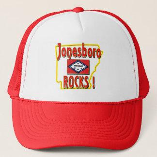 Jonesboro Rocks ! (red) Trucker Hat